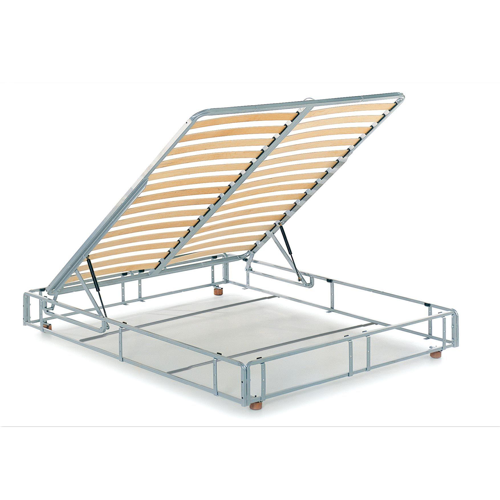 Reti materassi e trasformabili reti da letto con contenitore rete tifone cm 160x195 - Rete letto contenitore ...